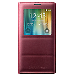 Samsung Note 4 S-View Cover - Plum