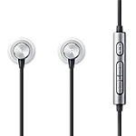 Samsung Premium Wired Headset with remote - Silver