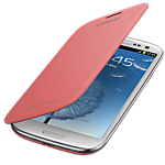 Samsung flip cover for Galaxy S III - Pink