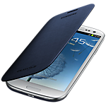 Samsung flip cover for Galaxy S III mini - Blue