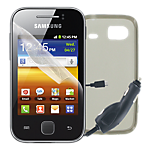 Samsung Galaxy Y essential accessories pack