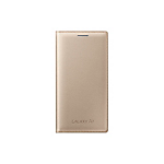 Samsung A5 S-View Cover - Gold