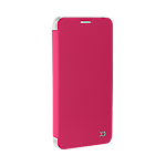 Xqisit Flap Cover Adour case for Samsung Galaxy S7 edge - Pink