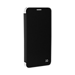 Xqisit Flap Cover Adour case for Samsung Galaxy S7 - Black