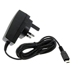 Mains charger for microUSB phones