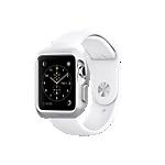 Spigen Apple Watch Slim Armour case - 38mm Silver