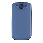 Soft-Touch Hardshell for Samsung Galaxy SIII - Blue