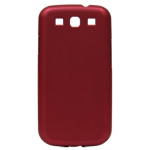 Soft-Touch Hardshell for Samsung Galaxy SIII - Red