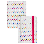 "Trendz Polka dot universal folio case for 7"" tablets"