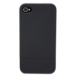 Uunique hard shell case for Apple iPhone 4/4S - black