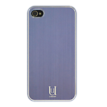 Uunique Aluminium Shine Collection for iPhone 4 Purple