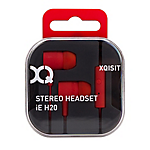 XQISIT In Ear H20 with Mic Red