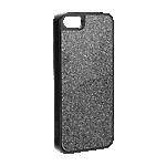 Xqisit iPlate Glamour iPhone SE/5s/5 case - Black