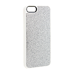Xqisit iPlate Glamour iPhone SE/5s/5 case - Silver
