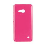 Xqisit iPlate Glossy case for Microsoft Lumia 550 - Pink