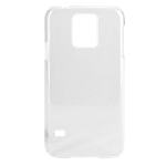Xqisit iPlate Glossy for Galaxy S5 - Transparent