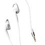Jabra Chill earbud headphones for iPhone & MP3 players - white