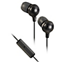 JVC Marshmallow headphones with inline mic - Black