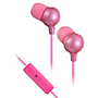 JVC Marshmallow headphones with inline mic - Pink