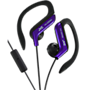 JVC Sports Headphones with mic and clip - Blue
