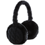 KitSound knitted audio earmuffs - black