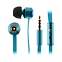 KitSound Ribbons In-Ear Headphone - Blue