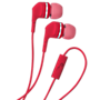 Rocketfish Fire Headphones with inline Mic - Pink