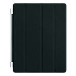 Apple Smart Cover leather for the new iPad/iPad 2 - Black