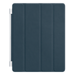 Apple Smart Cover leather for the new iPad/iPad 2 - Navy