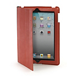 Tucano Cornice Folio case and stand for the new iPad/iPad 2- Red
