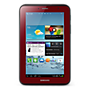"Samsung Galaxy Tab 2 7"" WiFi - Red"