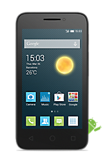 Black Alcatel OneTouch Pixi 3 (4) Contract Mobile Phone on Vodafone Vodafone 4G £17 24 Month Contracts with 500 mins and Unlimited Texts  FREE Samsung Galaxy Tab 4 7 WiFi  White