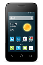 EE 4G Pay as you go £15 Everything pack Black Alcatel OneTouch Pixi 3 (3.5)