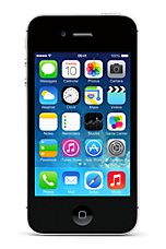 Black Apple  iPhone 4S 16GB Sim Free Handset