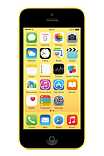 Yellow Apple iPhone 5c 16GB Sim Free Handset