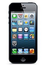 Black Apple iPhone 5 32GB Contract Mobile Phone on 3 Three iPhone &pound36 24 Month Contracts with 2000 mins and 5000 Texts