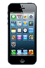 Black Apple iPhone 5 64GB Contract Mobile Phone on 3 Three Ultimate Internet &pound34 24 Month Contracts with 500 mins and 5000 Texts