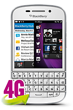 View the cheapest BlackBerry Q10 deals on 12 month contracts
