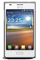White LG Optimus L5 Sim Free Handset