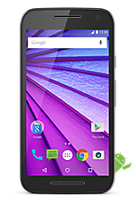 Black Motorola Moto G 4G (3rd gen) Contract Mobile Phone on Vodafone Vodafone 4G £26 24 Month Contracts with Unlimited mins and Unlimited Texts