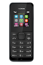 O2 Big Bundles £10 Pay & Go Black Nokia 105