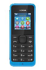 Blue Nokia 105 Sim Free Handset