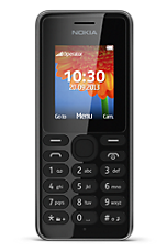 EE Prepay £10 Everything pack Black Nokia 108