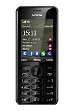 O2 Pay & Go Black Nokia 206