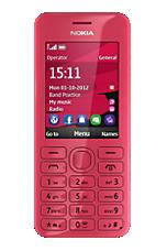 TMobile Pay As You Go Pink Nokia 206