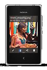 Nokia Asha 503 White