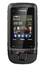 Vodafone Freedom Pay As You Go Black Nokia C205