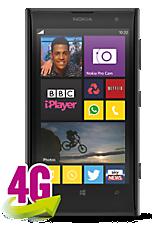 Black Nokia Lumia 1020 Sim Free Handset