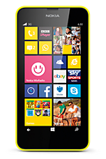 EE Pay as you go £1  Talk & Text pack Yellow Nokia Lumia 630