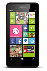 EE 4G Pay as you go £1  Talk & Text pack Black Nokia Lumia 635
